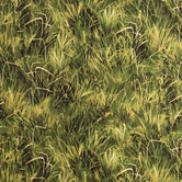 African Journey Grass Cotton Calico Fabric