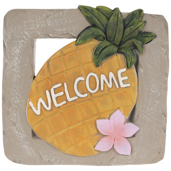 Pineapple Welcome Stepping Stone
