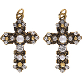 Baroque Cross Charms