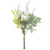 White Roses & Mixed Greenery Bouquet