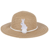 Floppy Hat With White Bunny