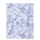 """Blue Floral Paper - 8 1/2"""" x 11"""""""