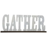 Gather Wood Decor