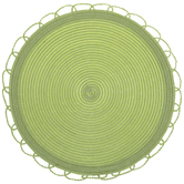Round Loop Edge Placemats