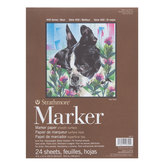 """Strathmore 400 Series Marker Paper Pad - 9"""" x 12"""""""