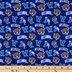 Villanova Allover Collegiate Cotton Fabric