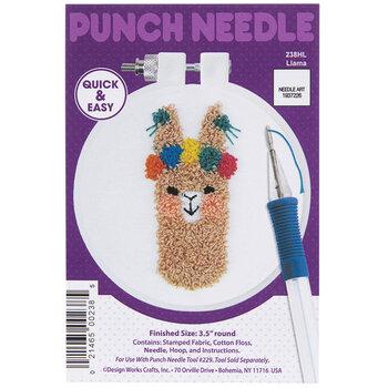 Llama Punch Needle Kit