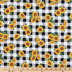 Sunflower Buffalo Check Cotton Calico Fabric