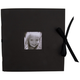 """Black Scrapbook Album - 8"""" x 8"""""""