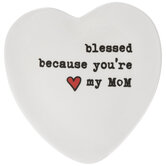You're My Mom Heart Jewelry Dish