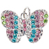 Butterfly Charm With Rhinestones