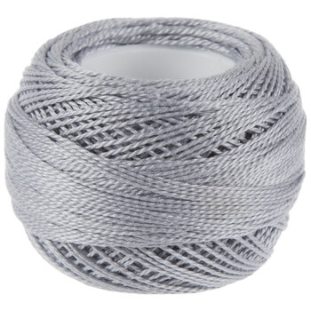 415 Pearl Gray DMC Pearl Cotton Thread - Size 8