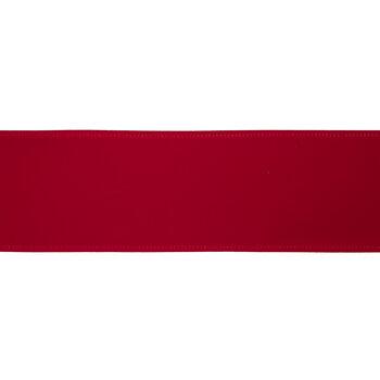 """Red Velvet Wired Edge Ribbon - 2 1/2"""""""