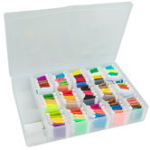 Pre-Wound Floss In Organizer Box Kit