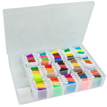 Pre-Wound Floss In Organizer Box Kit
