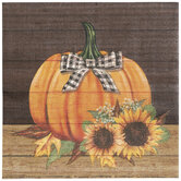Sunflower & Pumpkin Napkins - Large