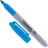 Brilliant Blue Sharpie Fine Point Marker