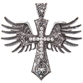 Winged Cross Pendant