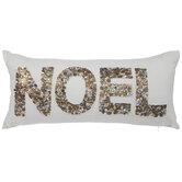Noel Sequin Pillow