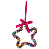 Bright Bells Star Ornament