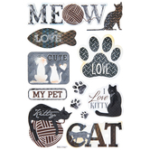 Translucent Cat Lover Stickers