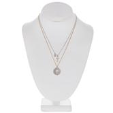 Rhinestone & Metal Chain Necklaces