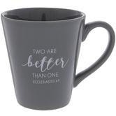 Ecclesiastes 4:9 Mr Mug