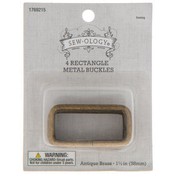 """Rectangle Buckles - 1 1/2"""""""