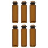 Amber Glass Bottle Embellishments