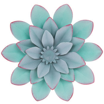 Flower Metal Wall Decor