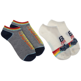 Back To The Future Low Cut Socks