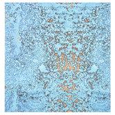 "Turquoise Rust Scrapbook Paper - 12"" x 12"""