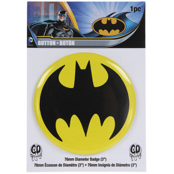 Batman Logo Button