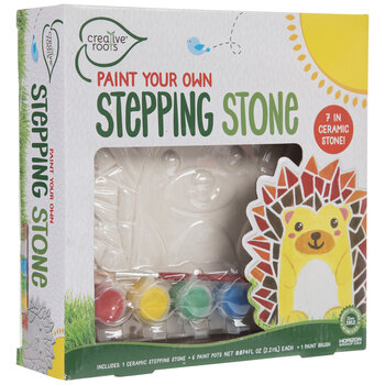 Paint Your Own Hedgehog Stepping Stone Kit