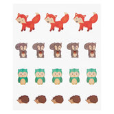 Woodland Party Envelope Seals