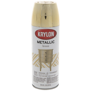 Brass Krylon Metallic Spray Paint