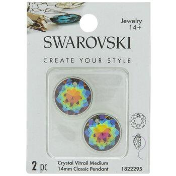 Crystal Vitrail Medium Swarovski Classic Pendants