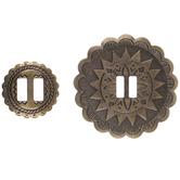 Metal Conchos