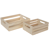 Wood Pallet Crate Set