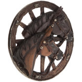 Horse & Wheel Wall Decor