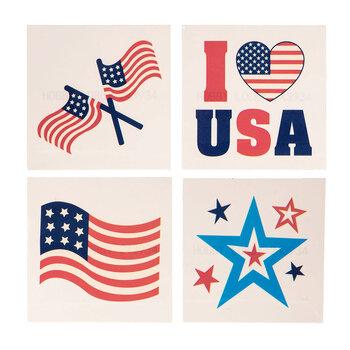 Red, White & Blue Americana Tattoos