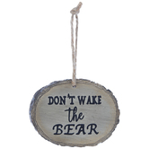 Don't Wake The Bear Ornament