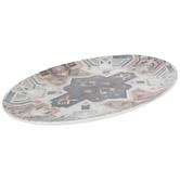 Brown Southwest Oval Platter