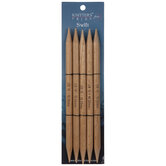 Beech Wood Double-Point Knitting Needles 15 - 10mm