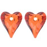 Wild Heart Swarovski Pendants