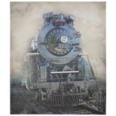Train Steam Engine Canvas Wall Decor