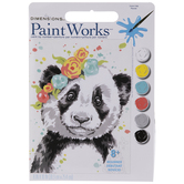 Panda Paint By Number Kit