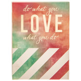 Do What You Love Magnetic Memo Pad