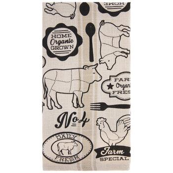 Farm Animal Kitchen Towel