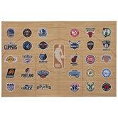 NBA Basketball Teams Canvas Wall Decor